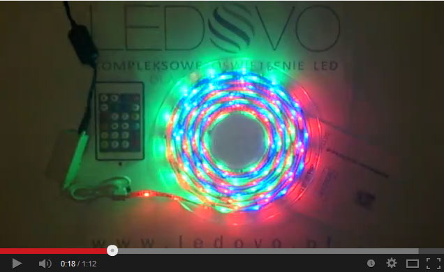 TASMA LED MAGIC LED RGB CYFROWA JAKOŚĆ LEDOVO EPISTAR