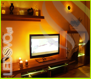 Oświetlenie Za Telewizorem Niebieskie Sklep Ledovo