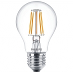 żarówka led e27 filament 4,3w 470lm 2700k philips deco led