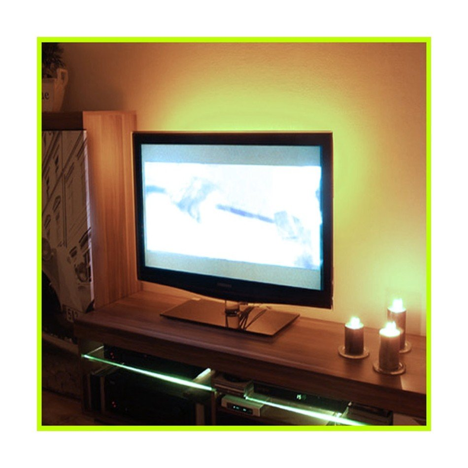 Podświetlenie Led Telewizora Oświetlenie Tv Biały Neutralny