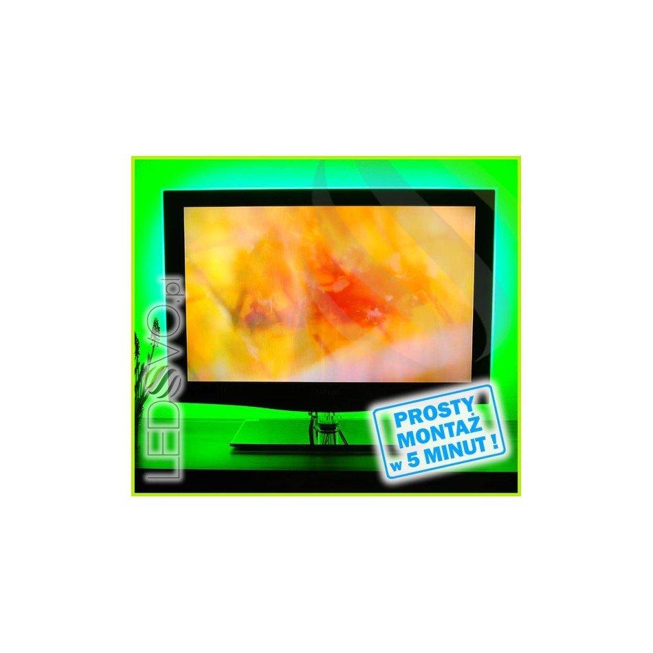 Podświetlenie Led Telewizora Oświetlenie Led Tv Zielony