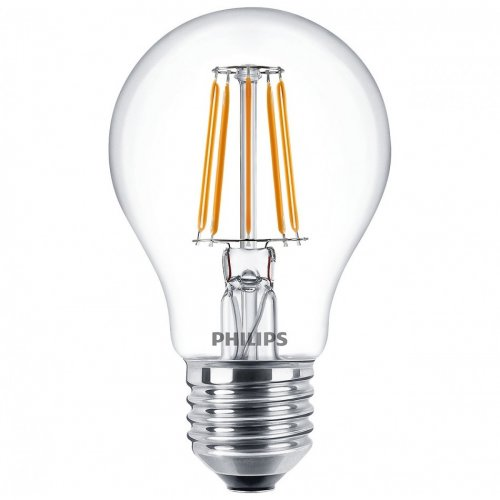 ŻARÓWKA LED E27 FILAMENT 4,3W 470lm 2700K Philips DECO LED
