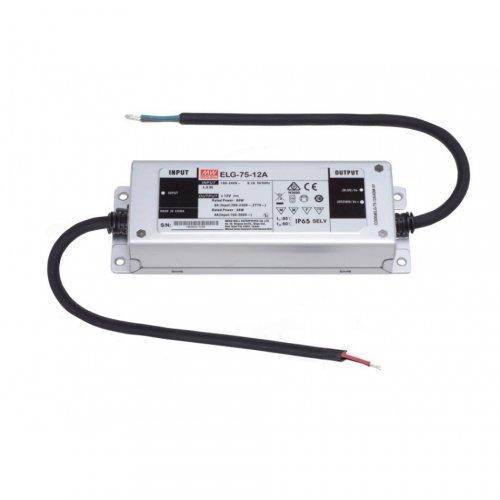 Zasilacz LED ELG-75-12 60W IP65 5 LAT GWARANCJI PFC