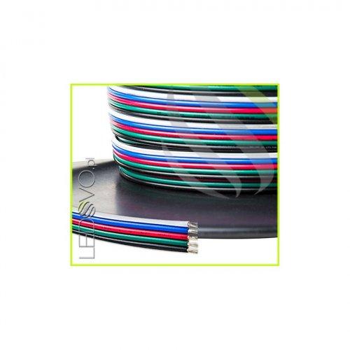 KABEL LED RGBW DO TAŚM LED RGBW RGBWW /PRZEWÓD 5x0,25 / 10mb