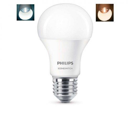 ŻARÓWKA LED 2W1 CIEPŁO - NEUTRALNA 9,5W 806lm Philips
