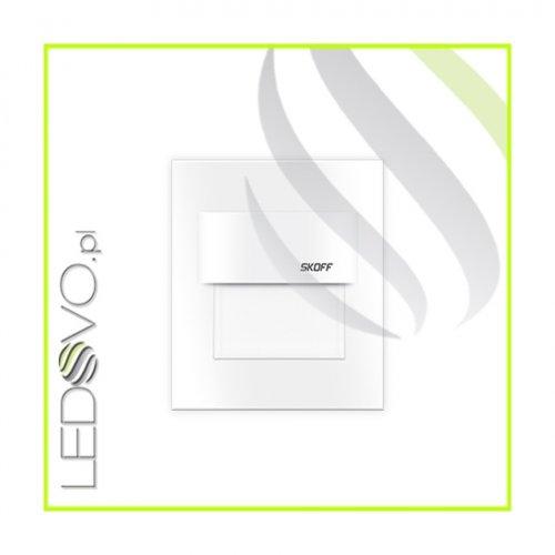 Oprawa Schodowa Szlif 0,8W 10V Biały Mat Aluminium