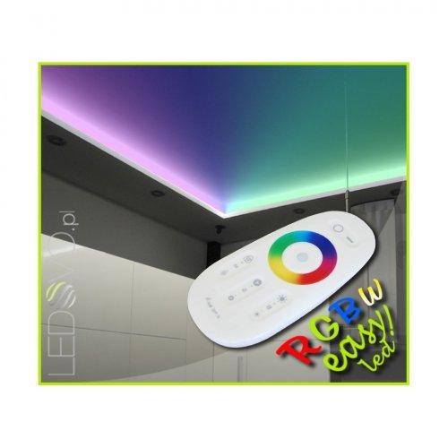 SUFIT LED RGBW +ZIMNOBIAŁY Z PILOTEM DOTYKOWYM / 20metrów