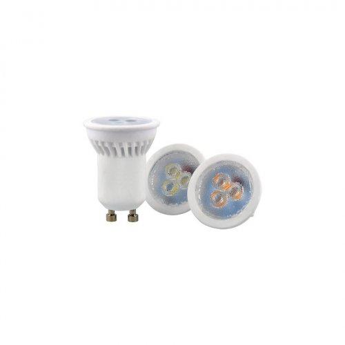 Żarówka LED GU11 SMD 170-250V AC 3W 255lm biała ciepła 2700K