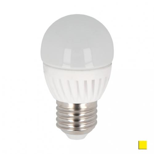 Żarówka LED LEDLINE E27 duży gwint G45 5W biała ciepła