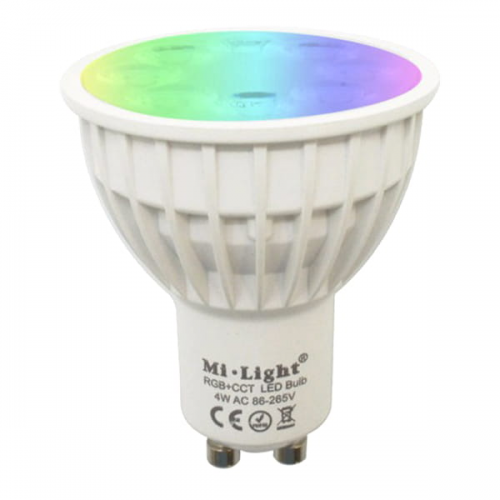Inteligentna Żarówka Mi-Light GU10 4W RGB+CCT
