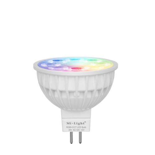 Inteligentna Żarówka Mi-Light MR16 12V 4W RGB+CCT