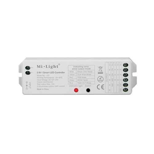 Inteligenty odbiornik Mi-Light MONO/CCT/RGB/RGBW/RGB+CCT RF do rozbudowy zestawu 180W