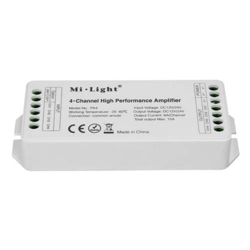 WZMACNIACZ SYGNAŁU Mi-Light PWM MONO/CCT/RGB/RGBW 180W