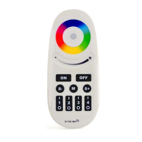 Inteligentny Pilot Ściemniacz RGB i RGBW 4strefowy