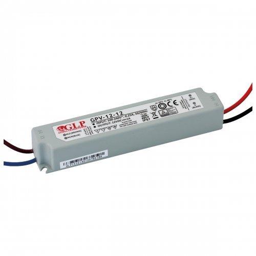 Zasilacz MONTAŻOWY GPV LED 12V / 12W / wodoodporny - IP67