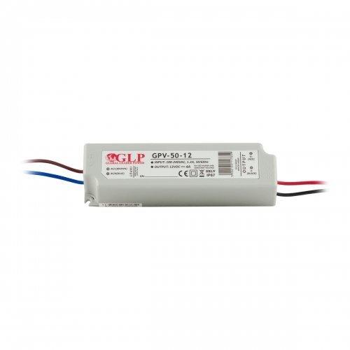 Zasilacz MONTAŻOWY GPV LED 12V / 50W / wodoodporny - IP67