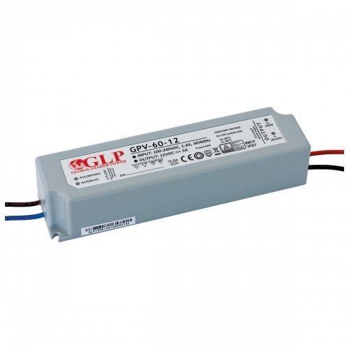 Zasilacz MONTAŻOWY GPV LED 12V / 60W / wodoodporny - IP67