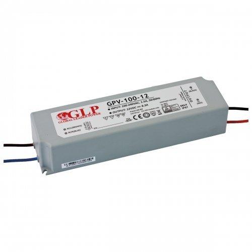Zasilacz MONTAŻOWY GPV LED 12V / 100W / wodoodporny - IP67