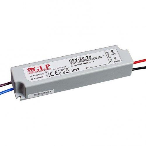Zasilacz MONTAŻOWY GPV LED 24V / 20W / wodoodporny - IP67