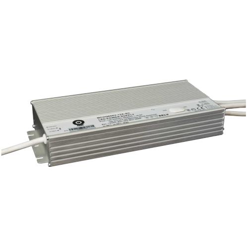 Zasilacz MONTAŻOWY MCHQ LED 24V / 600W / 25A / wodoodporny - IP67 PFC DIM