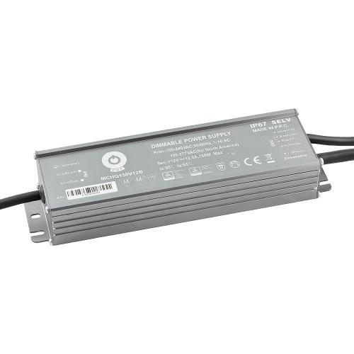 Zasilacz MONTAŻOWY MCHQ LED 12V / 168W / 14A / wodoodporny - IP67 PFC DIM