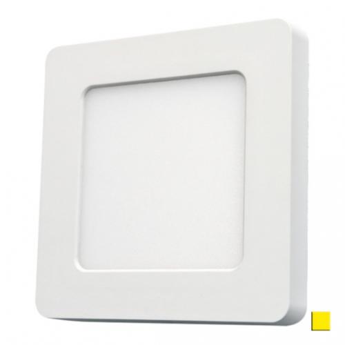 PANEL LED DOWNLIGHT Ledline 6W 450lm 230V biały ciepły kwadrat
