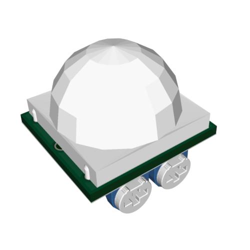 Kompaktowy czujnik ruchu zmierzchowy 12V