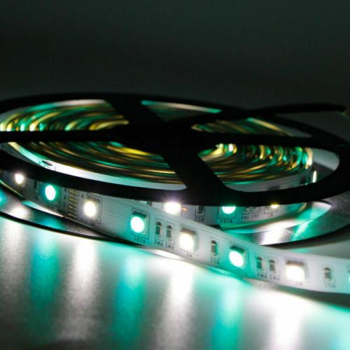 TAŚMA LED RGBW RGB+BIAŁY ZIMNY / Epistar 5050 300 LED / 24V / 5mb