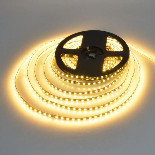 TAŚMA 640 LED / SUPER WYDAJNA 6600LM / ROLKA 5 m / BIAŁY CIEPŁY / 24V