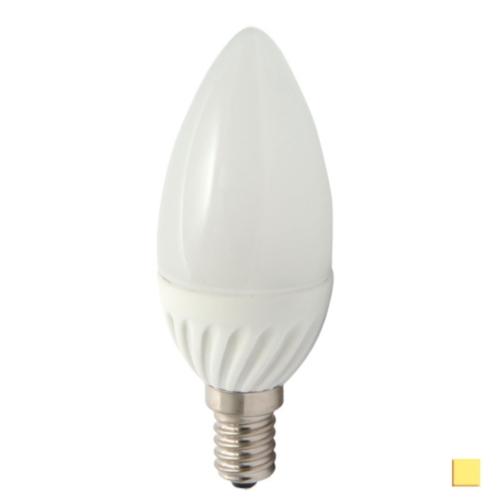 Żarówka LED LEDLINE E14 mały gwint 5W świeczka biała dzienna