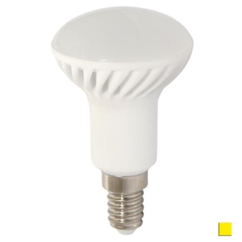 Żarówka LED LEDLINE E14 mały gwint 7W JDR R50 biała ciepła