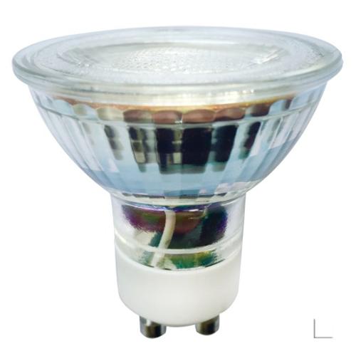 Żarówka LED LEDLINE GU10 halogen 5W 50˚ biała zimna
