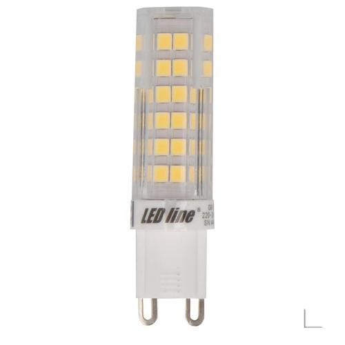 Żarówka LED LEDLINE G9 6W biała zimna