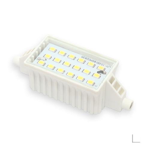 Żarnik LED LEDLINE R7S 6W 78mm biały zimny