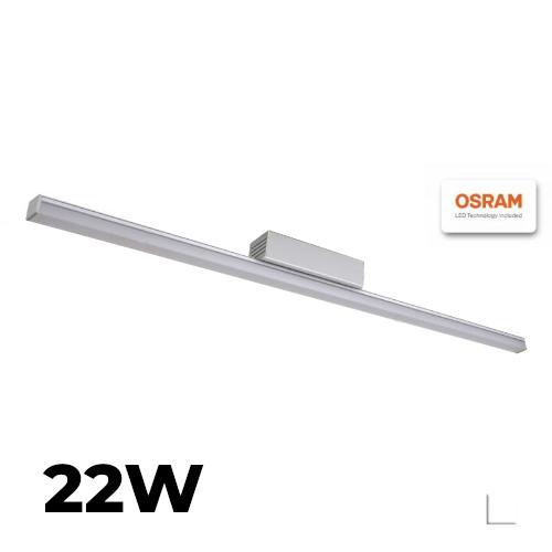 Listwa LEDOVO Handmade 22W 230V 100cm biała zimna z zasilaczem