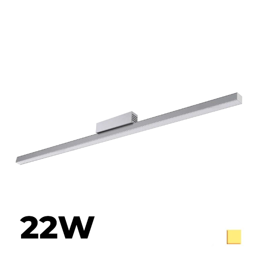 Listwa LEDOVO Handmade 22W 230V 120cm biała dzienna z zasilaczem