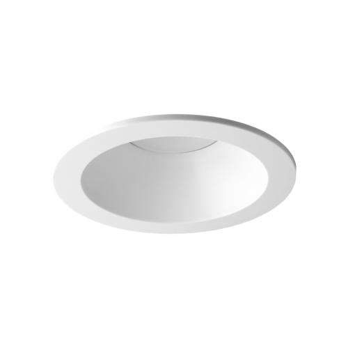 Oprawa sufitowa do wbudowania LED dekoracyjna MR16/GU10 okrągła stała z tworzywa