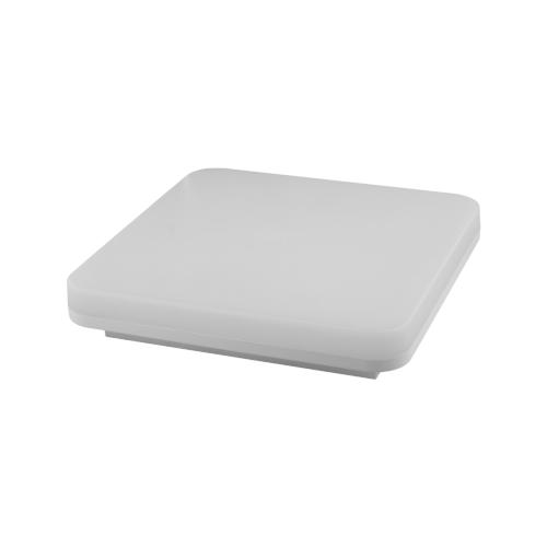 PLAFON LED Kwadratowy RADI 18W Biały Neutralny IP54 1440lm 4000K z czujnikiem RAD.