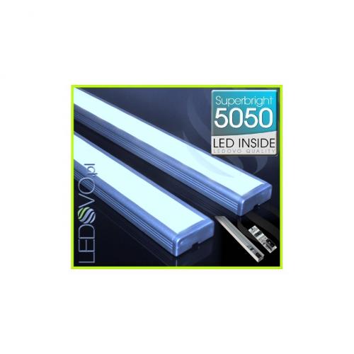 LISTWA LED Semi 5050 / 440 LUMENÓW / biała zimna / 50cm + WYŁĄCZNIK