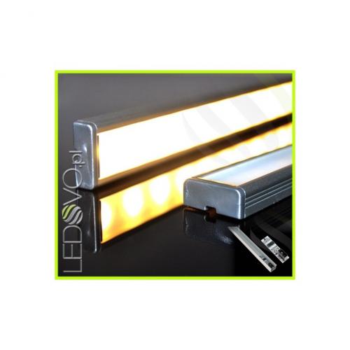LISTWA LED Semi 2835 / 660 LUMENÓW / biała ciepła / 50cm + WYŁĄCZNIK