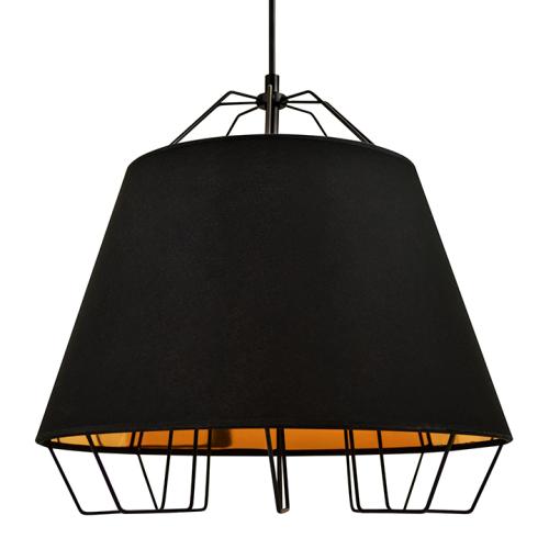 Lampa sufitowa Falun E27 czarna