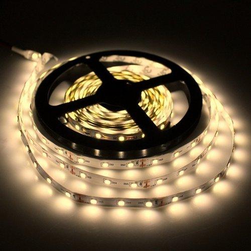 TAŚMA 150 LED / wodoodporna / ROLKA 5 m / BIAŁY CIEPŁY