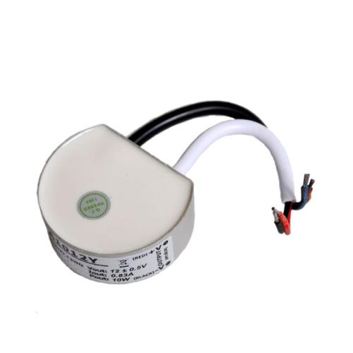 Zasilacz DOPUSZKOWY LED 12V / 10W / wodoodporny - IP67