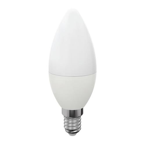 ŻARÓWKA Świeczka LED E14 C30 Mały Gwint 7W BIAŁA CIEPŁA