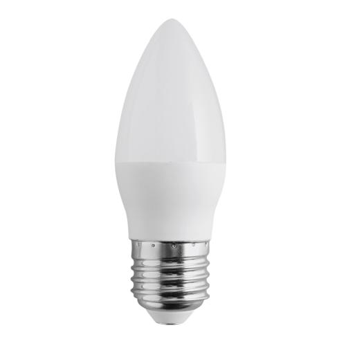 ŻARÓWKA Świeczka LED E27 C30 5W Duży Gwint BIAŁA NEUTRALNA