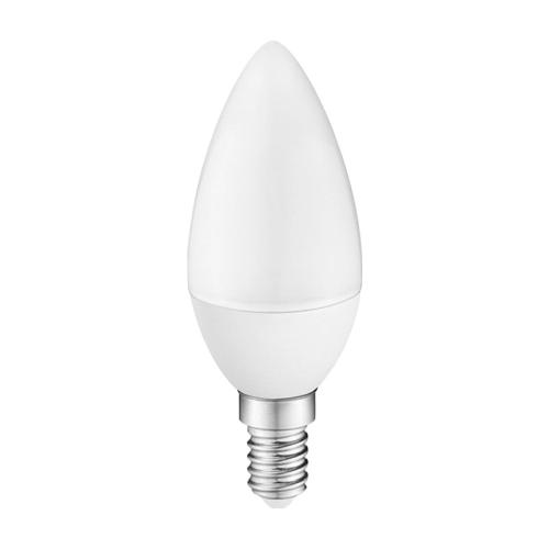 ŻARÓWKA Świeczka LED E14 C30 Mały Gwint 5W BIAŁA CIEPŁA
