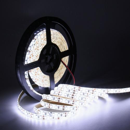 TAŚMA 600 LED / wodoodporna / ROLKA 5 m / BIAŁY ZIMNY