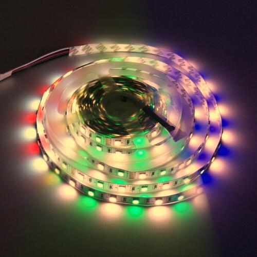 TAŚMA LED RGBW RGB+BIAŁY CIEPŁY / Epistar 5050 300 LED / 1mb