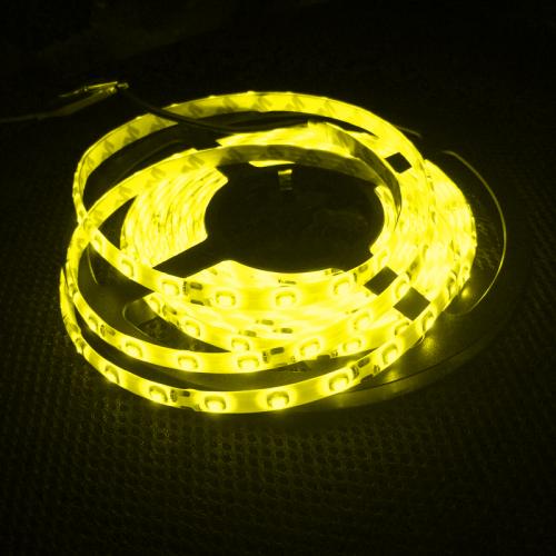 TAŚMA 300 LED / wodoodporna / ROLKA 5 m / ŻÓŁTA