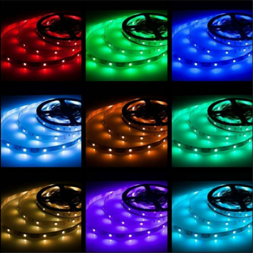 TAŚMA LED RGB Epistar 5050 150 LED /wodoodporna/ 5mb / RGB